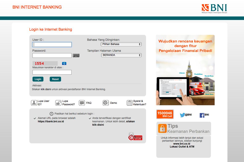 BNI Internet Banking