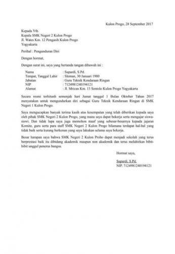 Perlu Buat Surat Resign Ini Contohnya Sepulsa