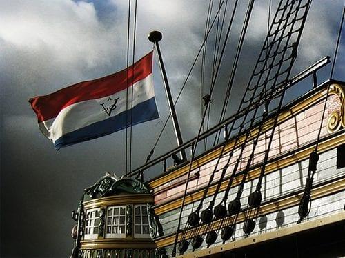 voc flag - sejarah indonesia