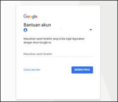 Temukan Cara Mengubah Password Gmail Yang Lupa Terbaru